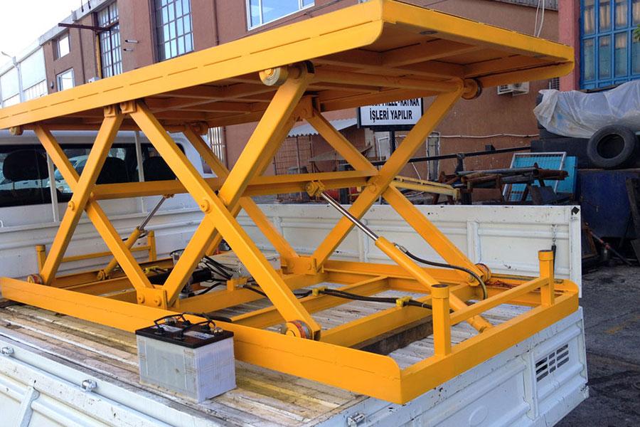 Hidrolik Makaslı Platform